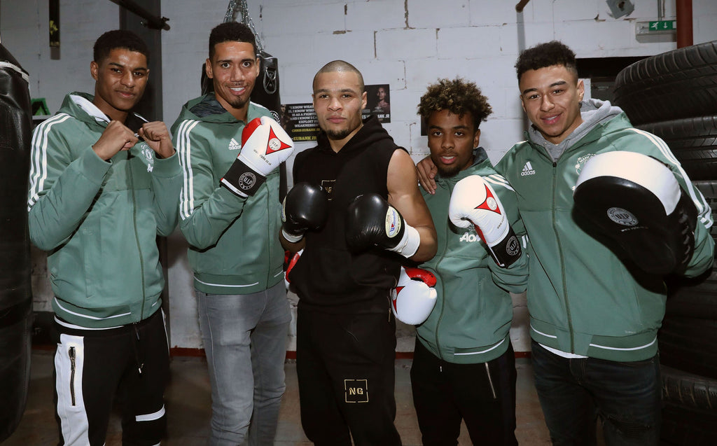 Chris Eubank Jr & Manchester United In Training Using VIP Boxing Equipment