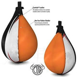 Premium Black & White Speed Ball Boxing Punch Bag - VIPBE