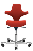 Load image into Gallery viewer, HAG Capisco 8126 - Flat Seat with Backrest (Fully Upholstered) - ErgoEquip