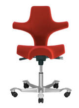 Load image into Gallery viewer, HAG Capisco 8106 - Saddle Seat with Backrest (Fully Upholstered) - ErgoEquip
