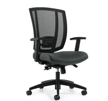 Load image into Gallery viewer, AVRO | Upholstered Seat & Mesh Back Synchro Tilter