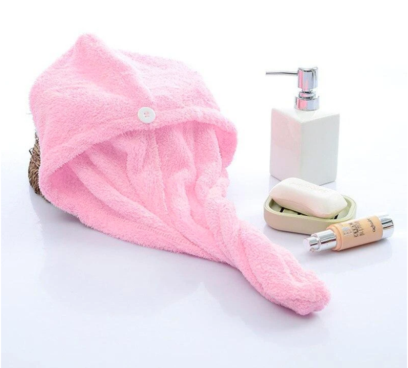 Our premium and limited microfiber Luxe Towel will take your hair from wet to dry faster than ever before. Here you can purchase our pink Luxe Towel designed for comfort, speed, and style!