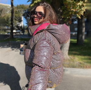 Zipper Bubble Coat