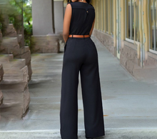 Load image into Gallery viewer, Wide-leg Wrapped Jumpsuits