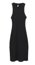 Load image into Gallery viewer, Round Neck Sleeveless Stretchy Dress
