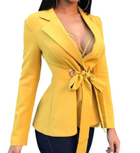Load image into Gallery viewer, Bowknot Blazer