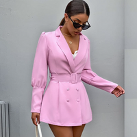 Fashion Breasted Blazer