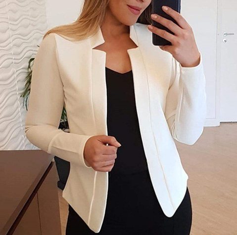 Long-sleeve Blazer