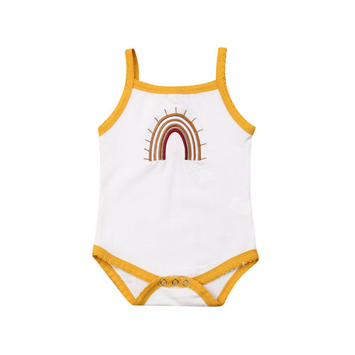 Girl Summer Sleeveless Bodysuit - EqualBaby