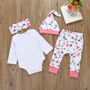 Infant Baby Girl Clothes Letter - EqualBaby