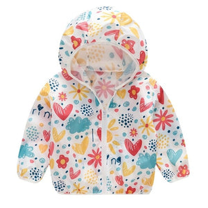 Toddler Kids Summer Sunscreen Jackets - EqualBaby