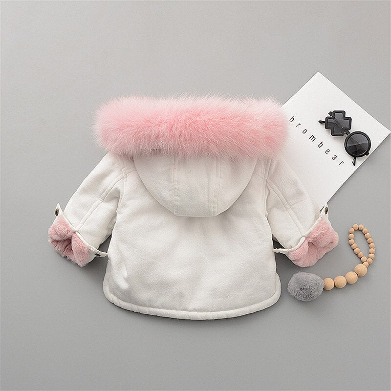 Fleece Toddler Girl Jacket - EqualBaby