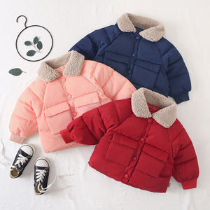 Baby Girls Coat Warm Jacket - EqualBaby