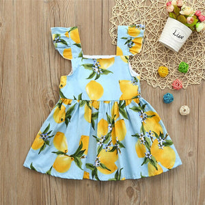 Baby Girls Dress Infant Kids Lace Sundress Summer - EqualBaby