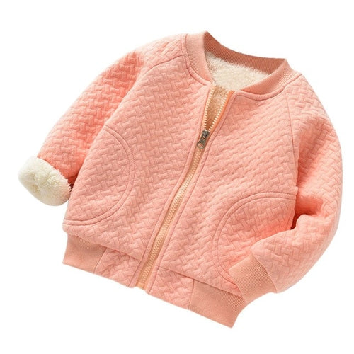 Warm Winter Girl Jacket - EqualBaby