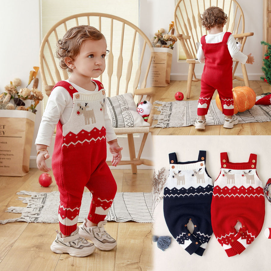 Baby Jumpsuit Clothes Christmas - EqualBaby