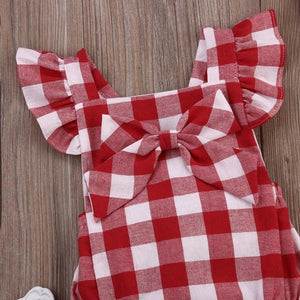 Baby Girl Cotton Bowknot - EqualBaby