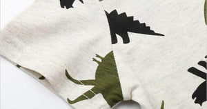 Children Baby Boys Summer Tshirt Cartoon Dinosaur - EqualBaby