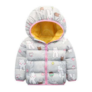 Children's Winter Down Jackets - EqualBaby