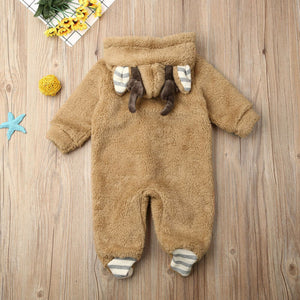Newborn Baby Jumpsuit For Winter - EqualBaby