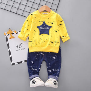 Baby Costume Star Camouflage Tracksuit Tops and Pants - EqualBaby