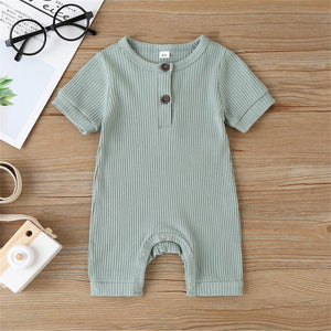 Baby Summer Short Sleeve Jumpsuit - EqualBaby