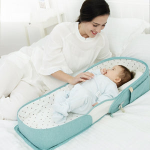Portable Baby Travel Bed Bag for Baby 0-6M - EqualBaby