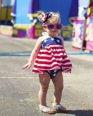 Baby Girls Patriot Design Set - EqualBaby