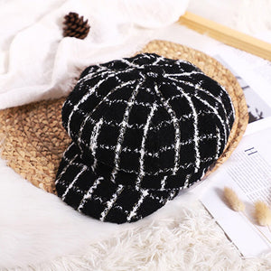 Kids Baby Girls Beret New Autumn And Winter - EqualBaby
