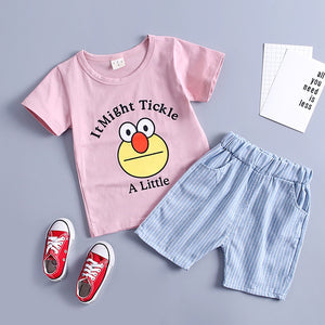 Kawaii Kids Baby Girl Boy Cartoon Print - EqualBaby