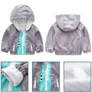 New Boys Kids Hooded Jackets - EqualBaby