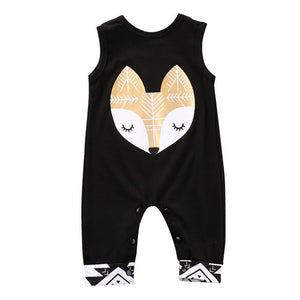 Newborn baby jumpsuit sleeveless - EqualBaby