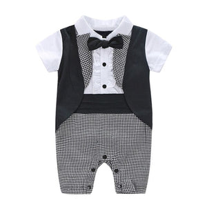 Toddler Baby Boys rompers Summer Clothes Gentleman - EqualBaby
