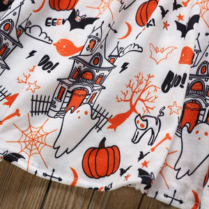 Toddler Kids Baby Girls Cartoon Halloween Pumpkin - EqualBaby