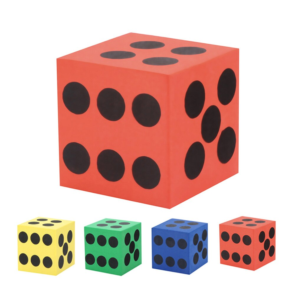 Toys For Children Boys Kids Toys Eva Foam Dice Six - EqualBaby