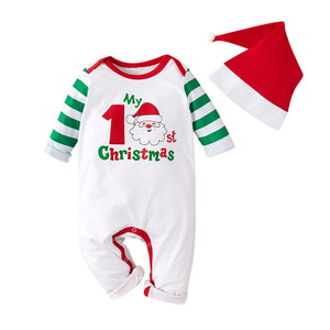 Christmas Newborn Cartoon Santa Onesie - EqualBaby