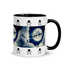 Load image into Gallery viewer, Reindeer Night Sky Mug with Color Inside