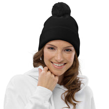 Load image into Gallery viewer, Anointed Designer Pom pom beanie
