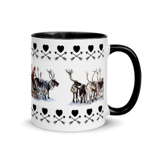 Load image into Gallery viewer, Santa Mug with Color Inside