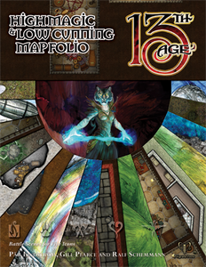 13TH AGE: HIGH MAGIC & LOW CUNNING MAP FOLIO