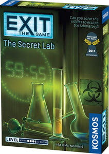 EXIT THE SECRET LAB