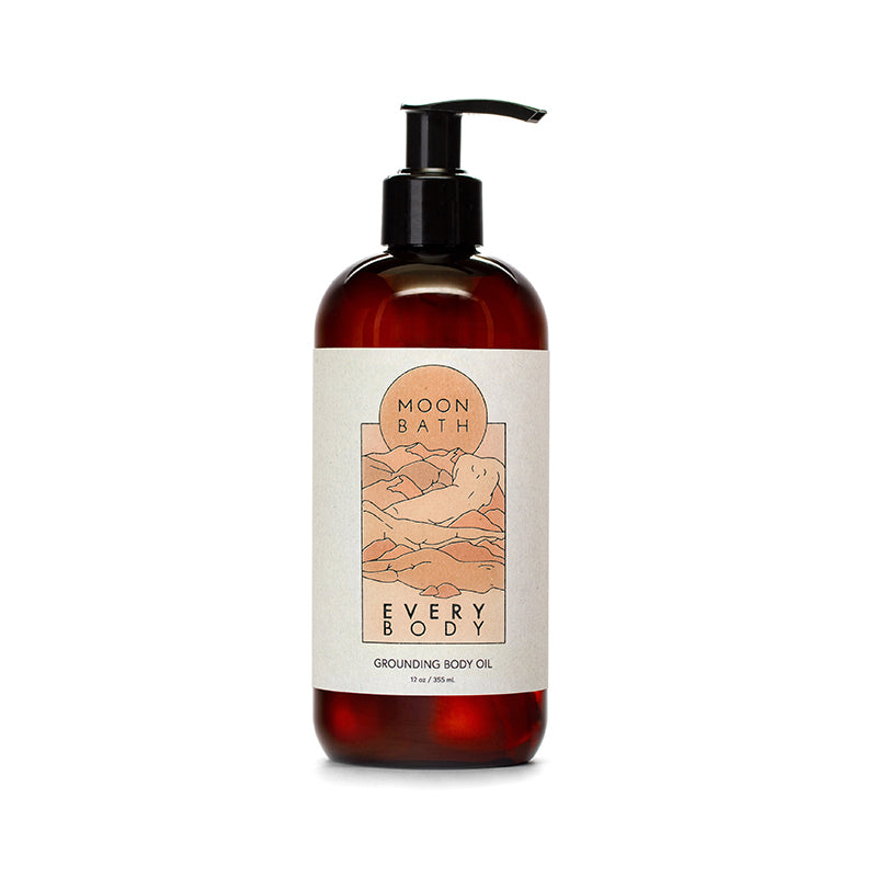 Moon Bath Every Body – Grounding Body Oil (355ml)