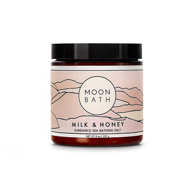 Moon Bath Milk & Honey Infused Sundance Bathing Salt
