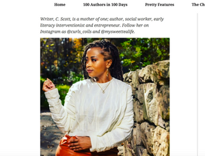Pretty Women Hustle Magazine Features Mixme Apparel Owner