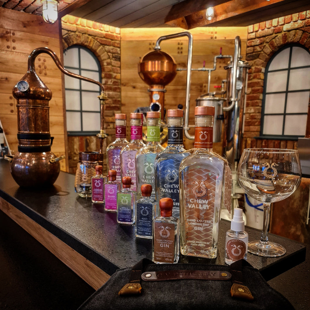 Chew Valley Distillery Gin Tasting Session
