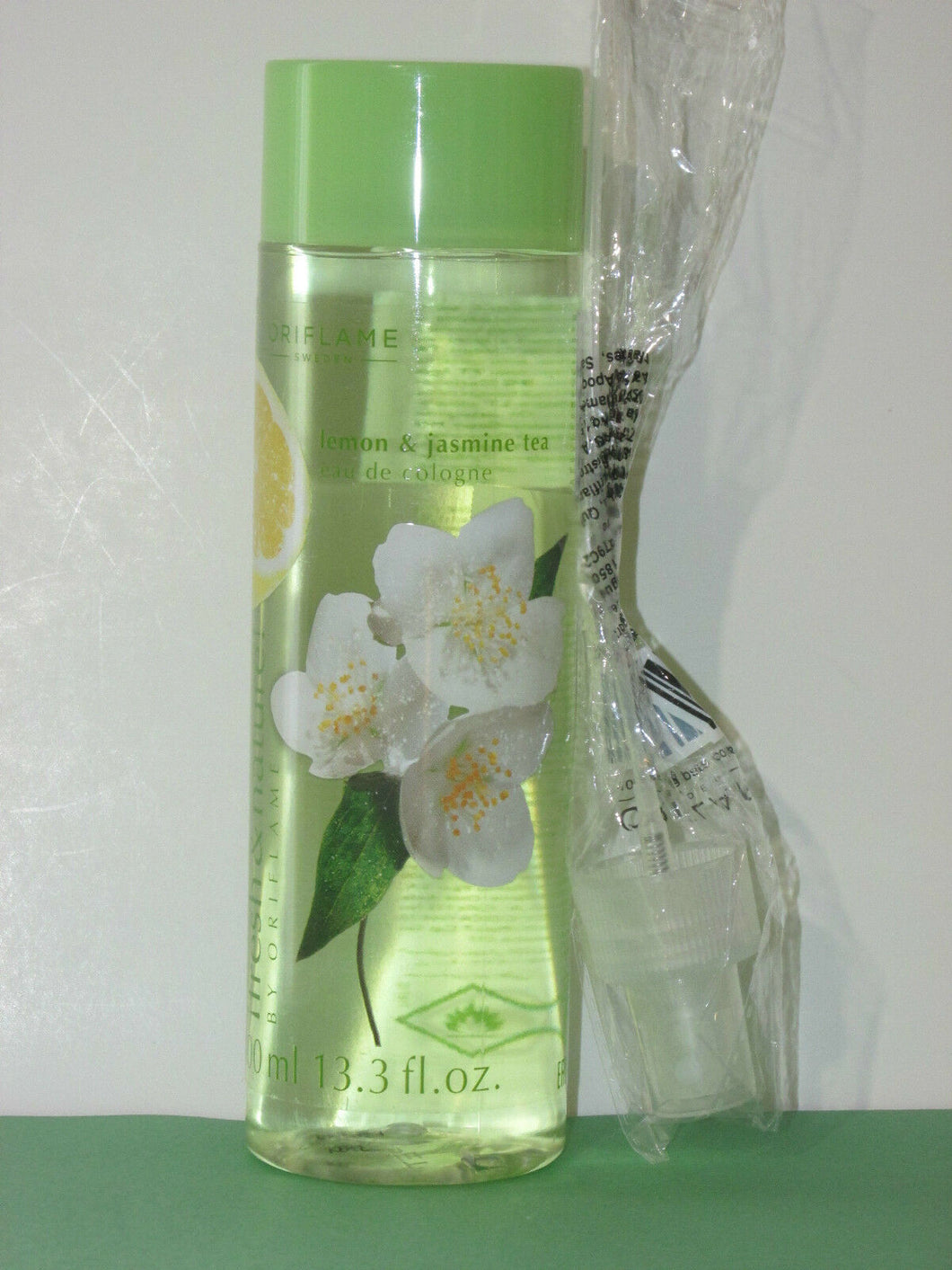 ORIFLAME SWEDEN FRESH & NATURE! LEMON & JASMINE EDC SPRAY 400 ml. NEW!