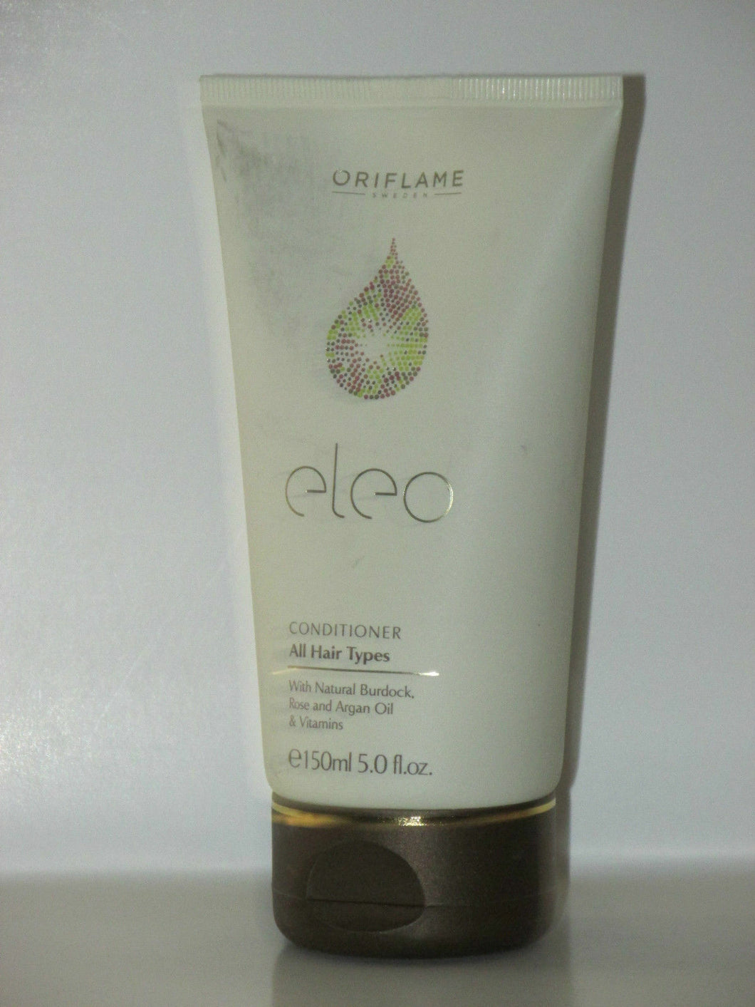 ORIFLAME SWEDEN ELEO CONDITIONER ALL HAIR TYPES W/ARGAN OIL, ROSE.. 150 ml. NEW!