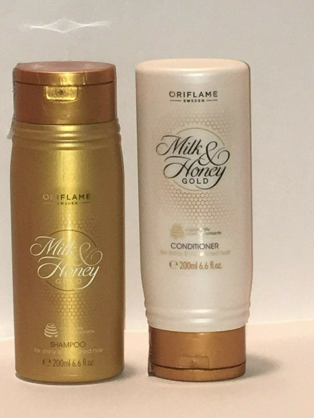 ORIFLAME SWEDEN MILK & HONEY SETx 2 (SHAMPOO + CONDITIONER 200 ml each) NEW
