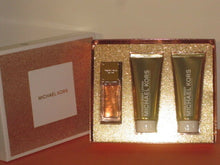 Load image into Gallery viewer, MICHAEL KORS GIFT SET GLAM JASMINE (EDP SP 50ml+B LOTION & B WASH ) NEW-WITH BOX