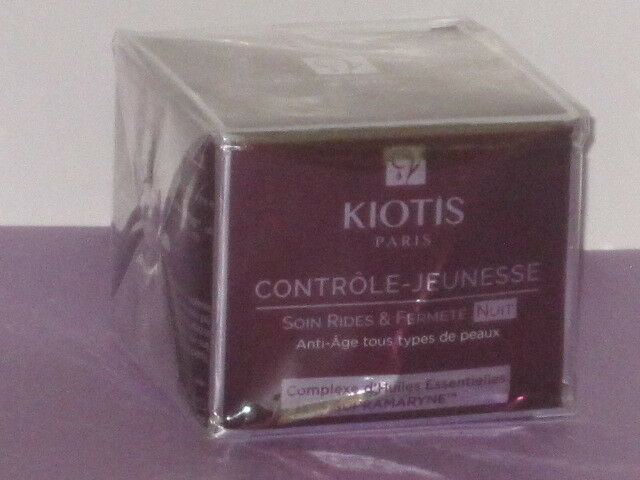 KIOTIS PARIS CONTROLE-JEUNESSE ANTI-AGING FIRMNESS NIGHT CREAM 50 ml. NEW